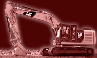 dtc trucking contruction backhoe D5K buldozer